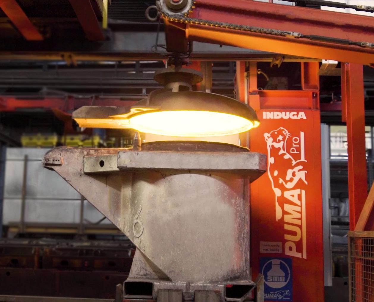 Tecnologie unità produttive sistema fusorio induga Puma