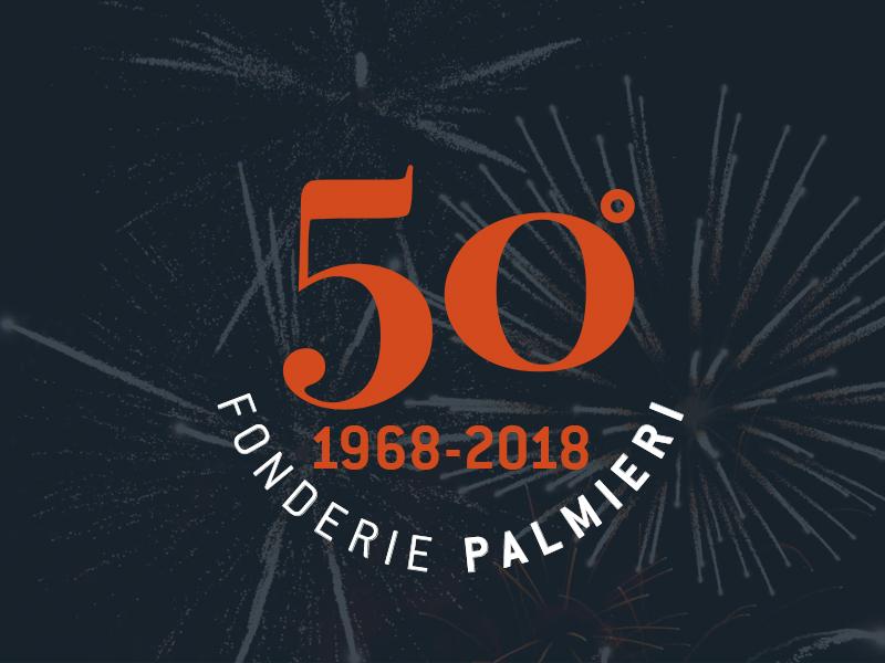50° anniversario Fonderie Palmieri 1968 2018
